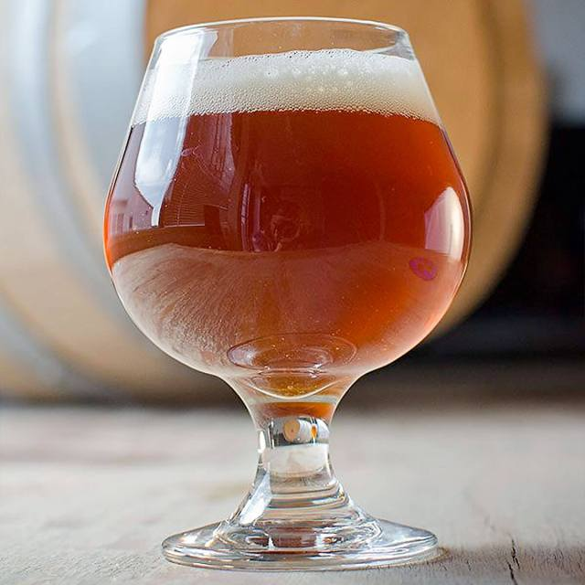 An English Barleywine in a Snifter