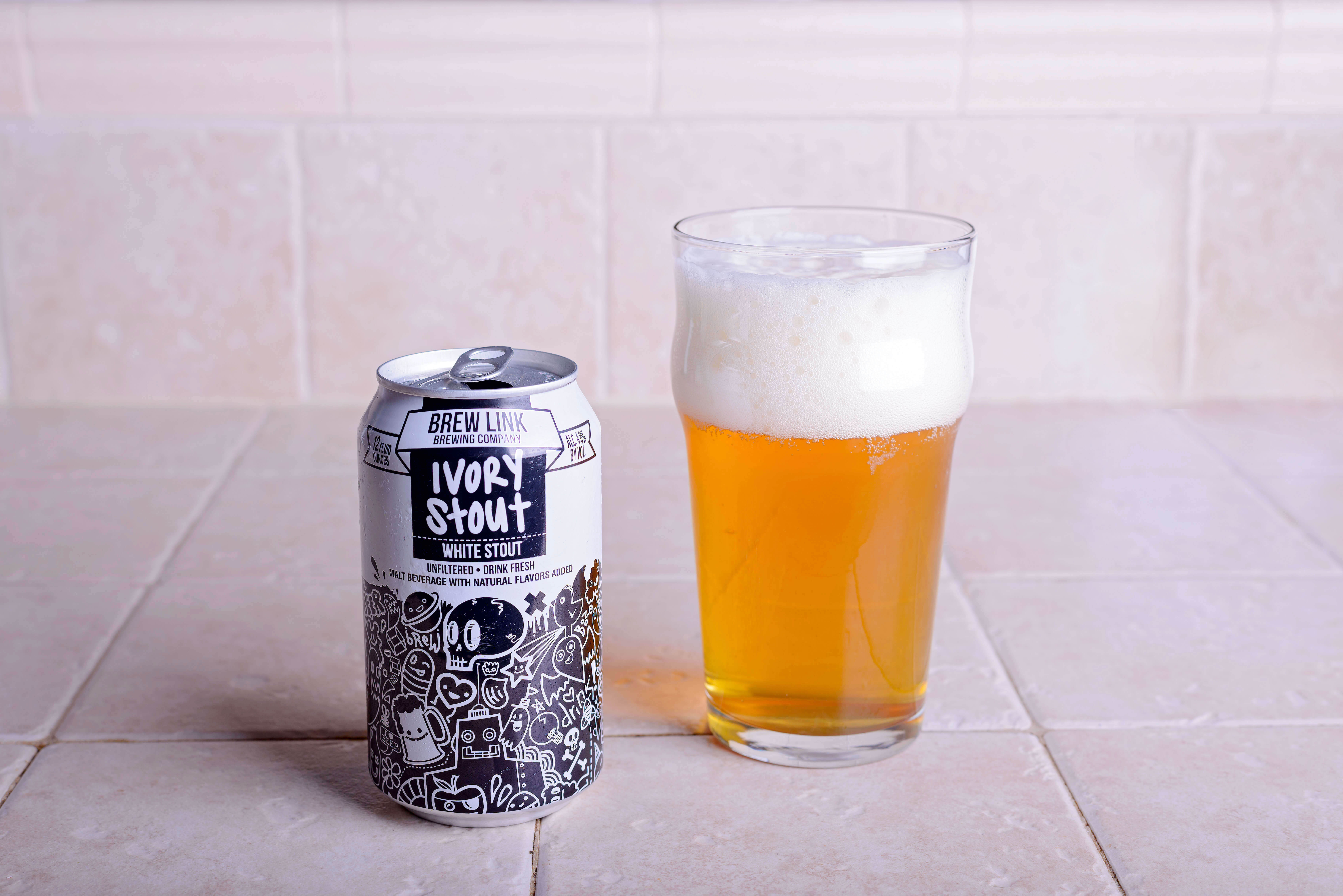 Ivory Stout (White Stout) - Brew Link Brewing Company
