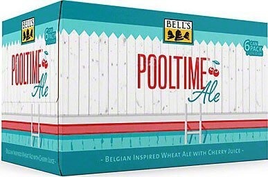 Packaging art for the Pooltime Ale by Bell's Brewery, Inc.
