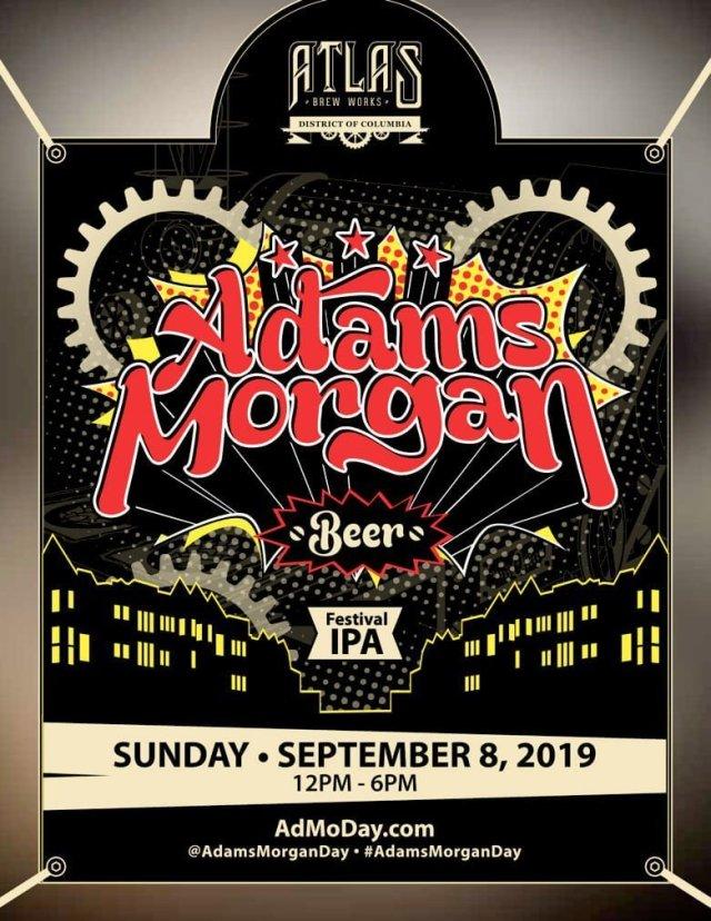 "Poster Art for ""The Adams Morgan Festival IPA"""