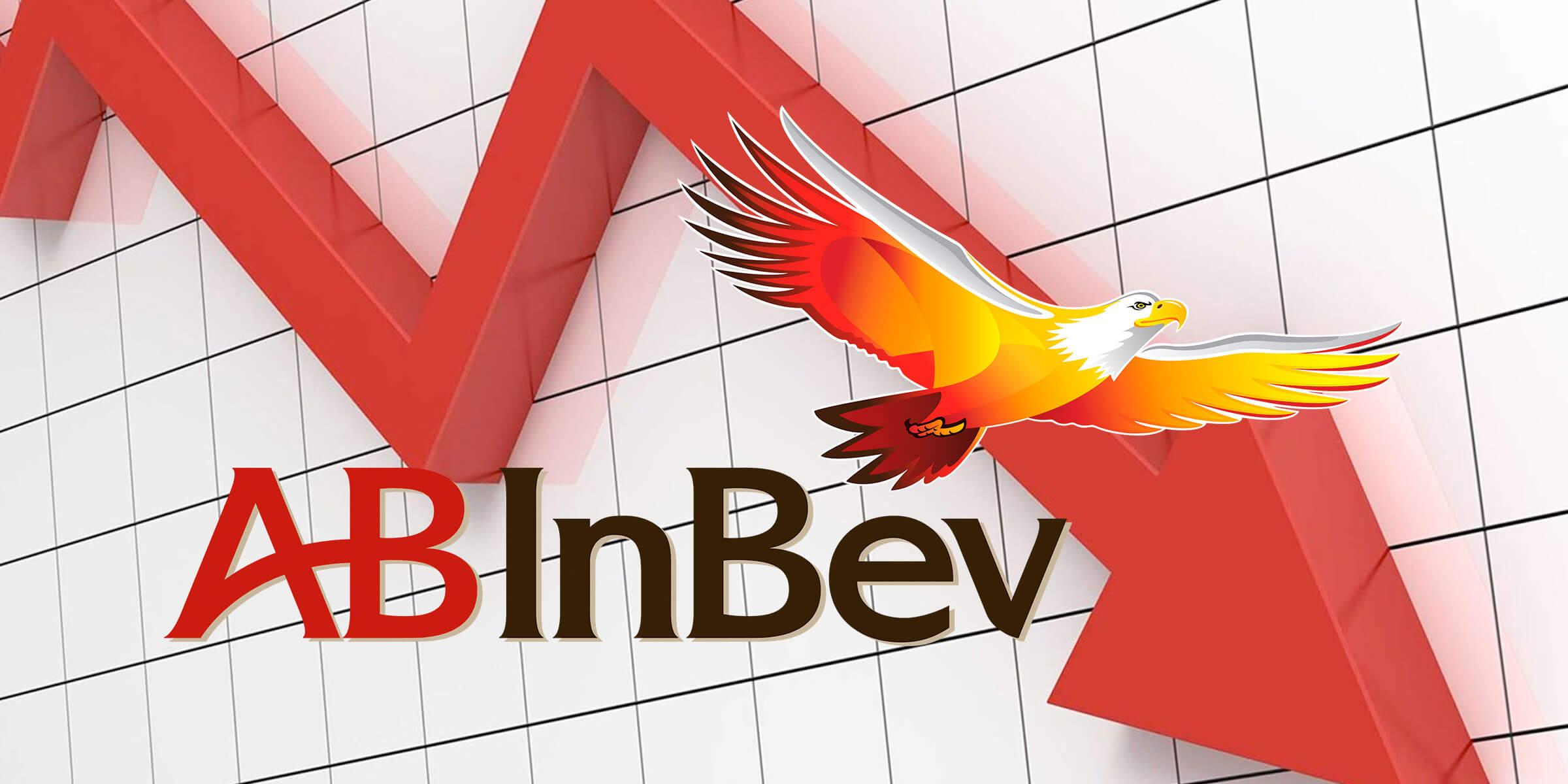 Anheuser-Busch InBev has experienced some decline recently.