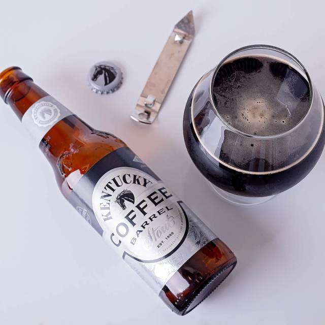 Kentucky Coffee Barrel Stout is an American Imperial Stout by Alltech Lexington Brewing & Distilling Co. that blends bourbon flavor with coffee.