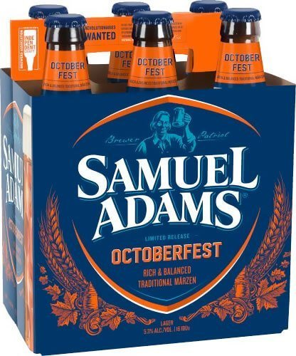 Packaging art for the Samuel Adams OctoberFest by Boston Beer Company