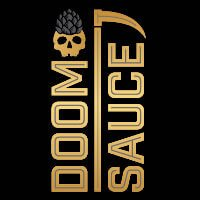 Label art for the Doomsauce by Lord Hobo Brewing Co.