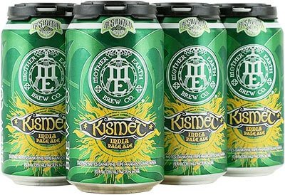 Packaging art for the Kismet by Mother Earth Brew Co.