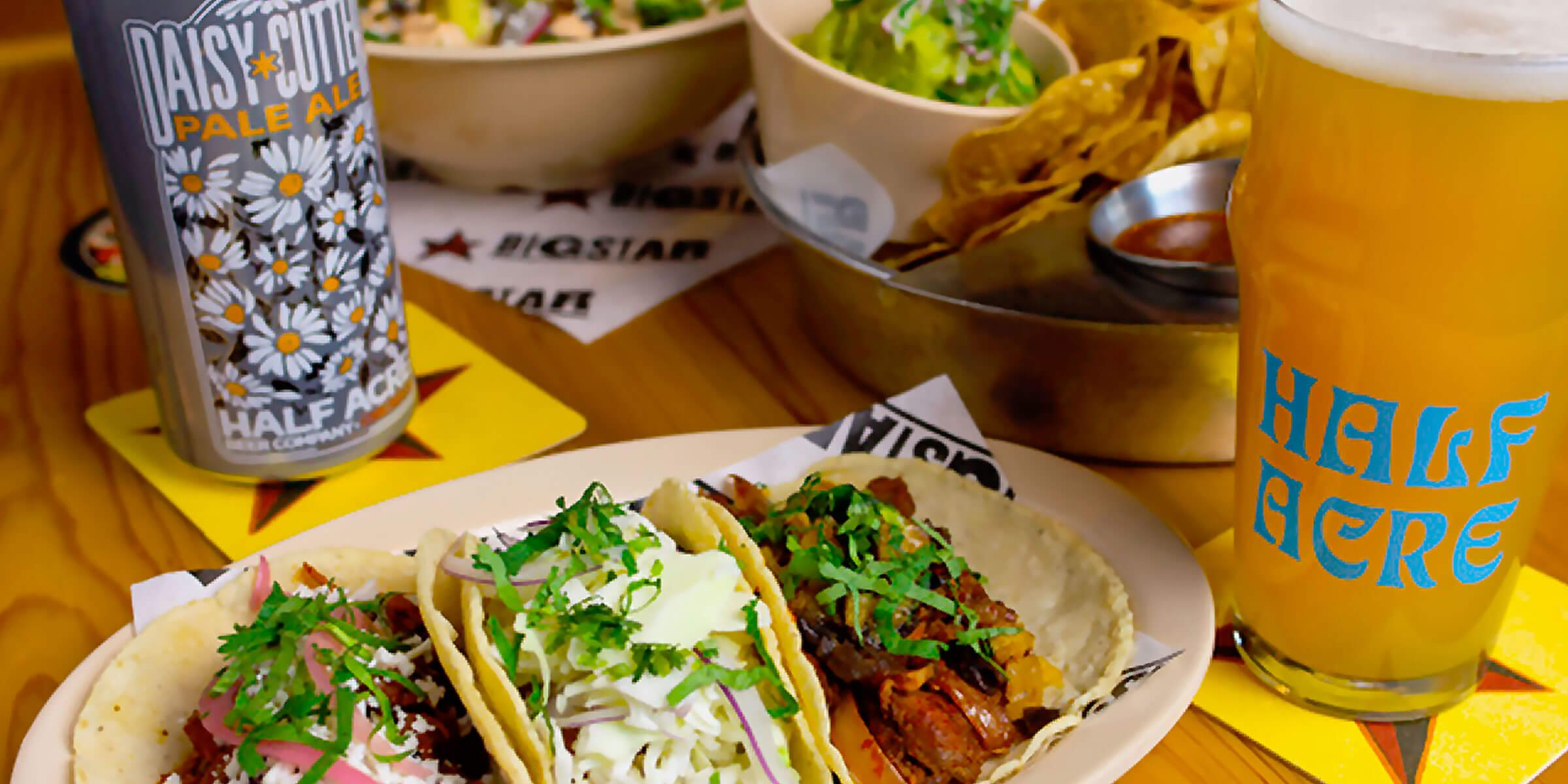 Chicago-based Half Acre Beer Company is bringing James Beard-winning Chef-Partner Paul Kahan's highly sought-after Big Star tacos to their Balmoral taproom.