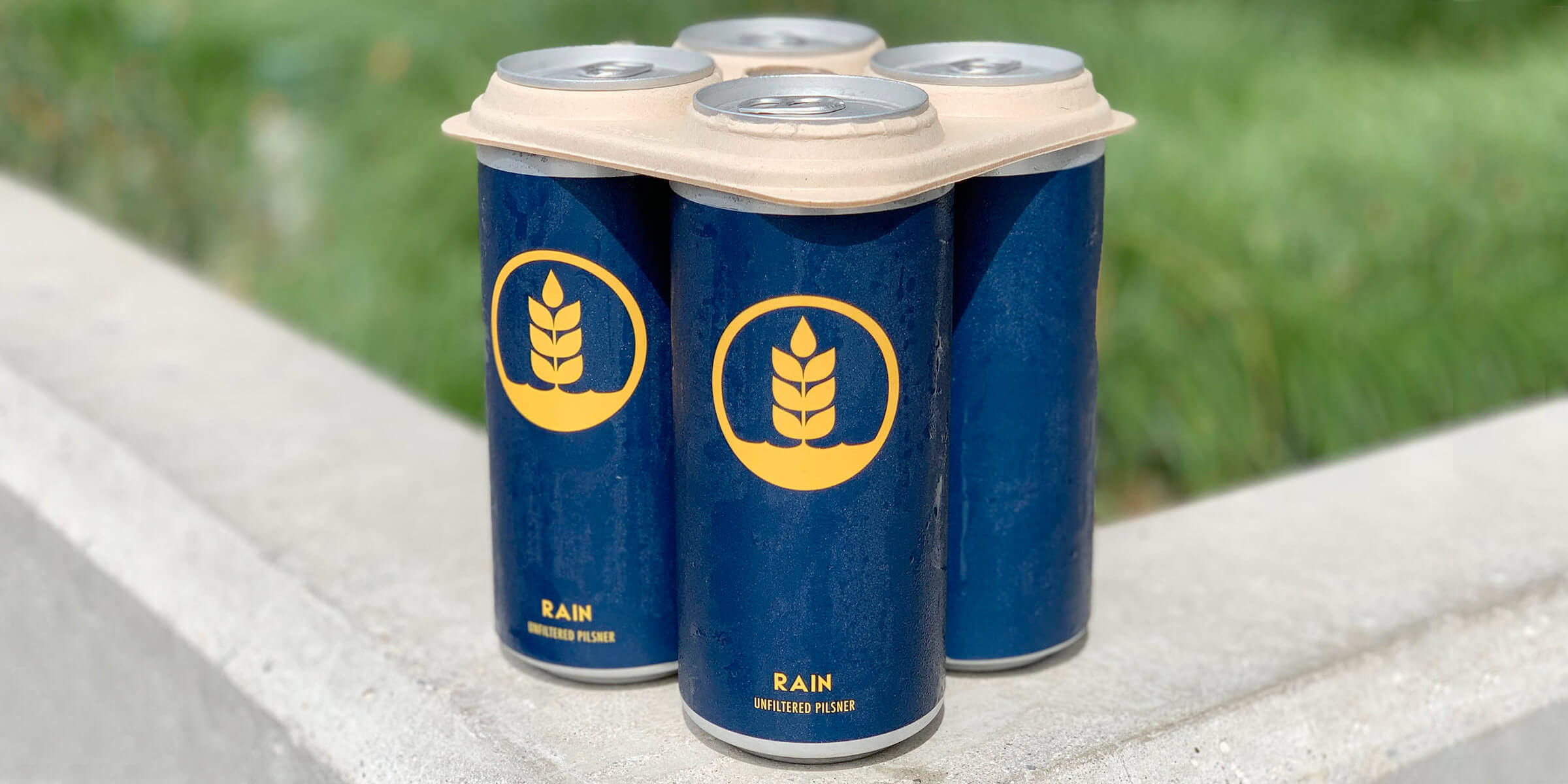 Pure Project received local and national press by becoming one of the first breweries in California to implement the ocean safe can holders from E6pr, the first biodegradable and compostable holder of its kind.