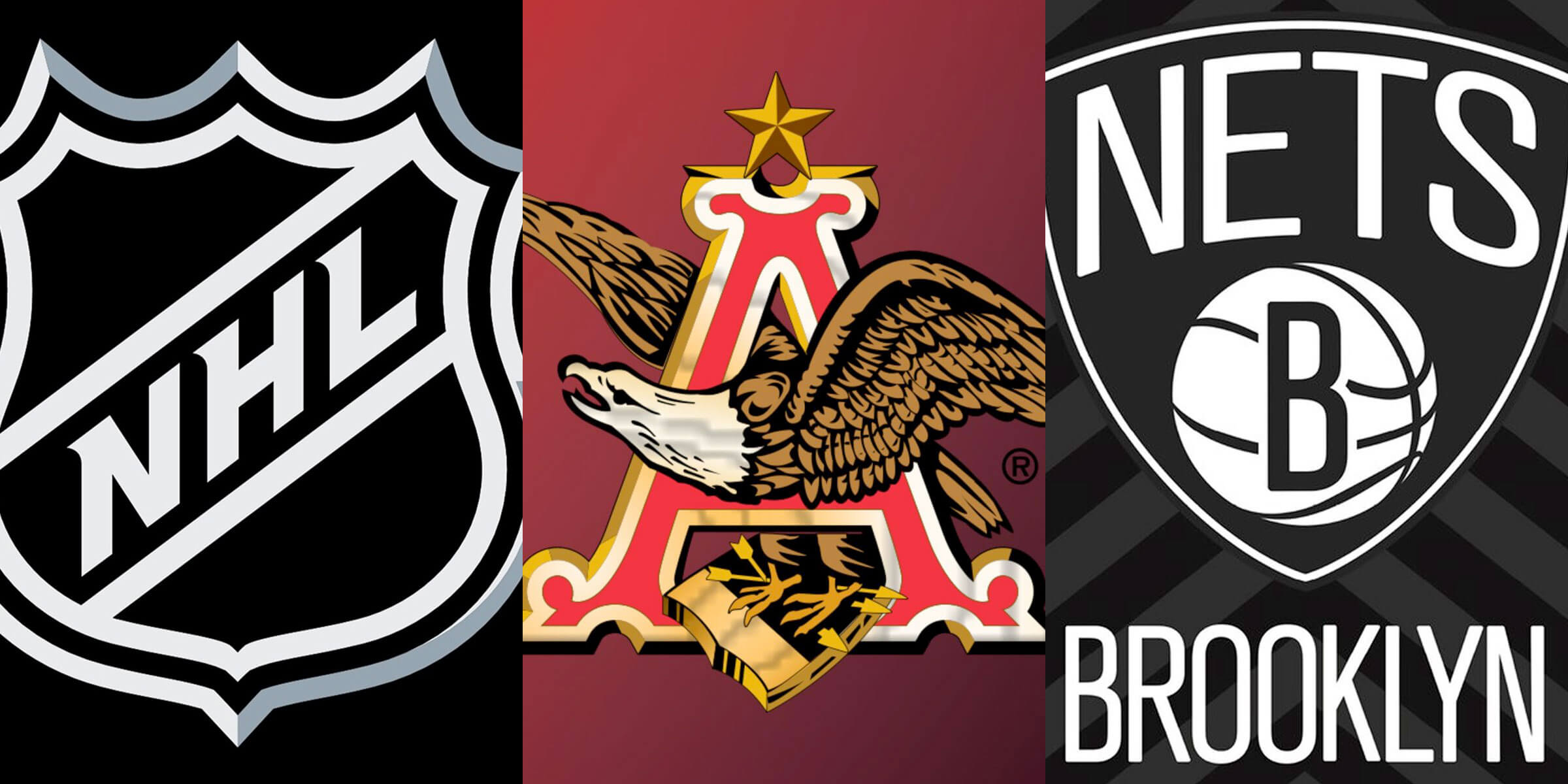 After eight years, Anheuser-Busch InBev has returned as sponsor for the NHL and has also struck a multi-year deal with the NBA's Brooklyn Nets.