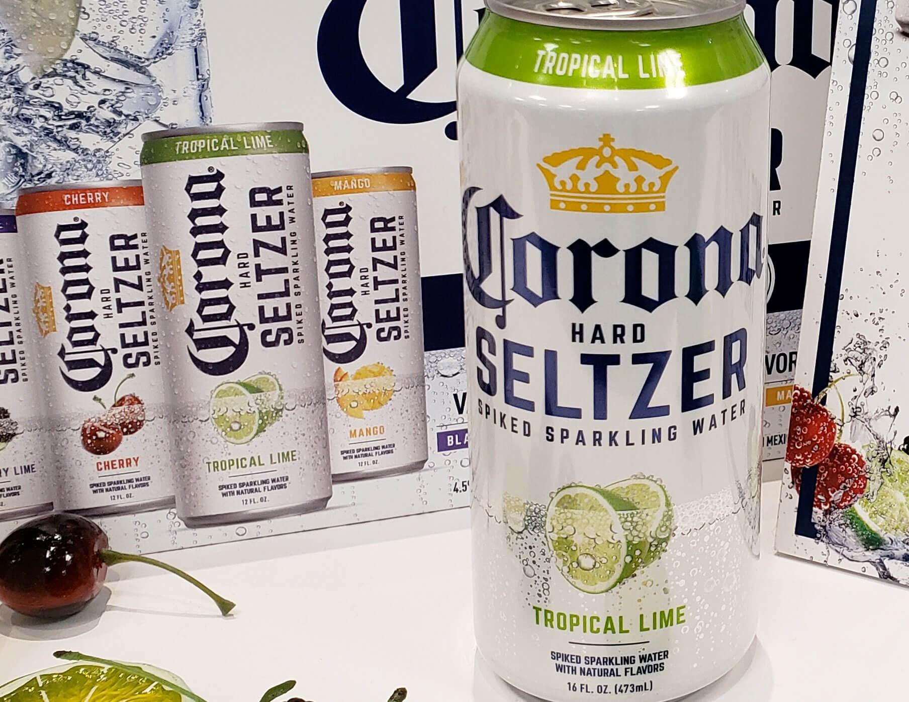 Corona Hard Seltzer by Cervecería Modelo and Constellation Brands