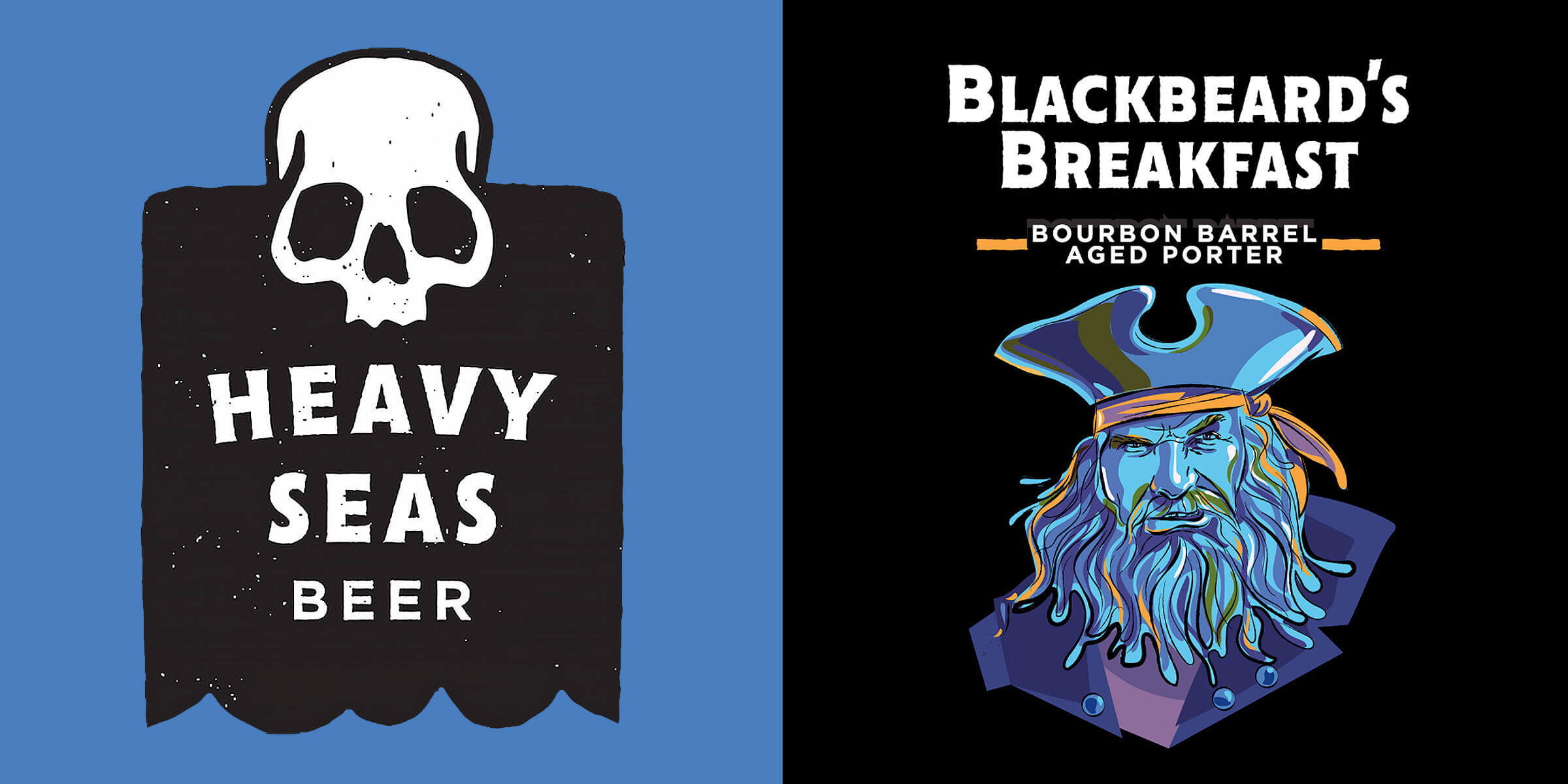 Heavy Seas Beer will soon release Blackbeard's Breakfast, an Imperial Coffee Porter aged in bourbon barrels along with a non-barrel-aged Tiramisu variant.