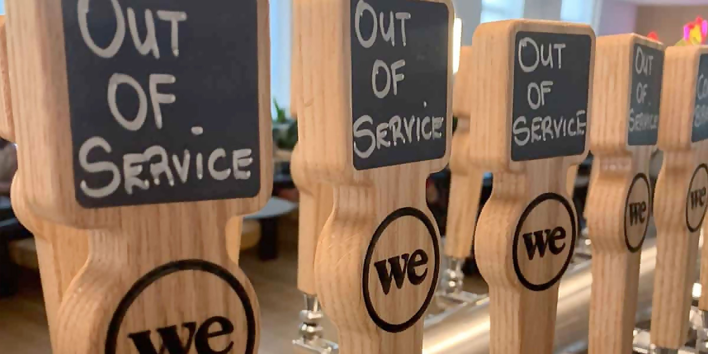 WeWork, once considered the most valuable startup in the U.S., is phasing out free beer and wine at its North American locations.