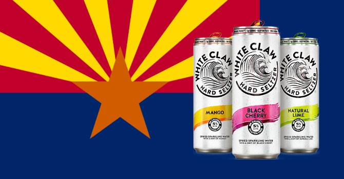 Mark Anthony Brands, maker of White Claw Hard Seltzer, has selected Glendale, Arizona, as the location of its $250 million West Coast production facility.