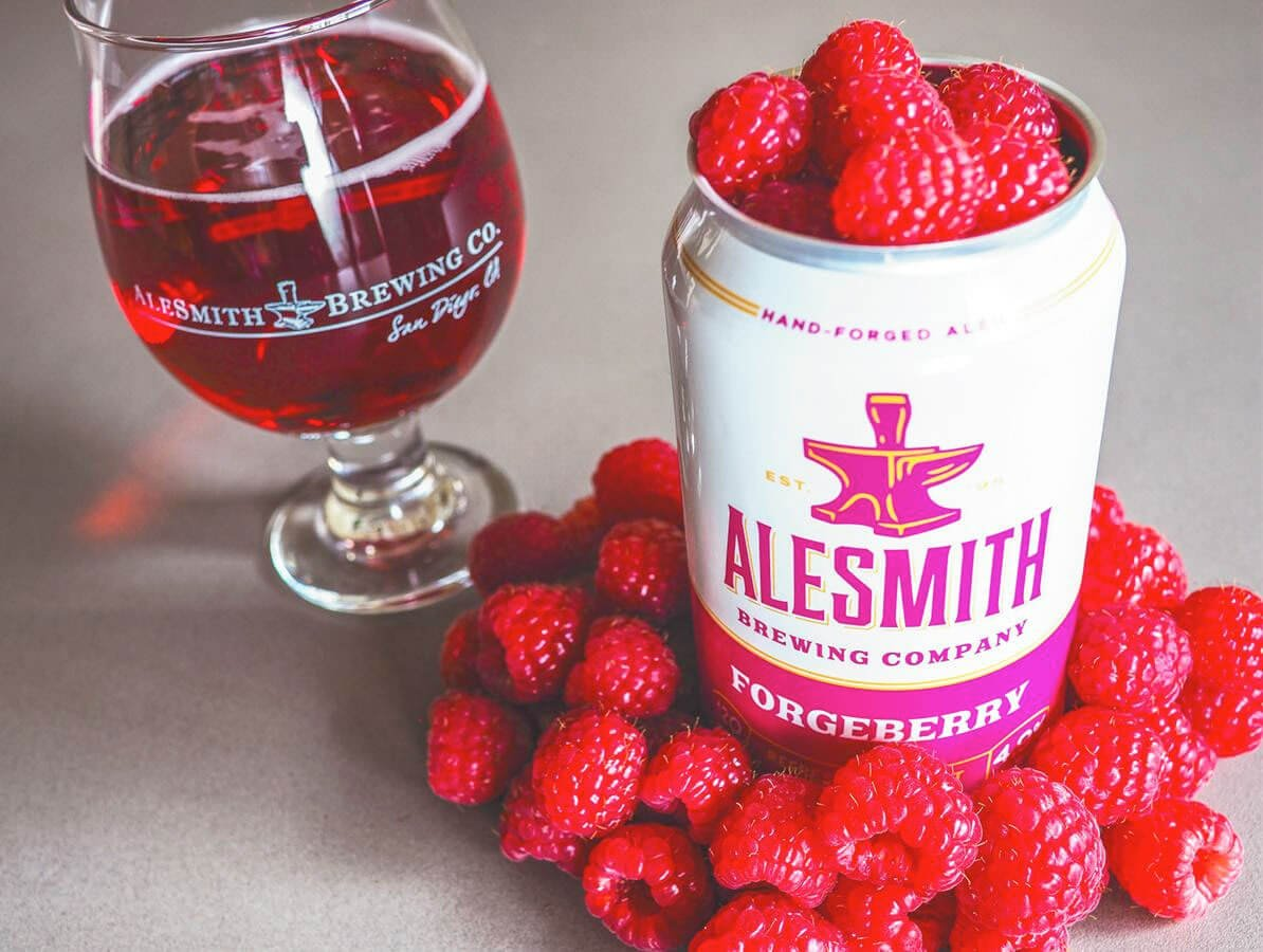 Forgeberry Ale by AleSmith Brewing Company