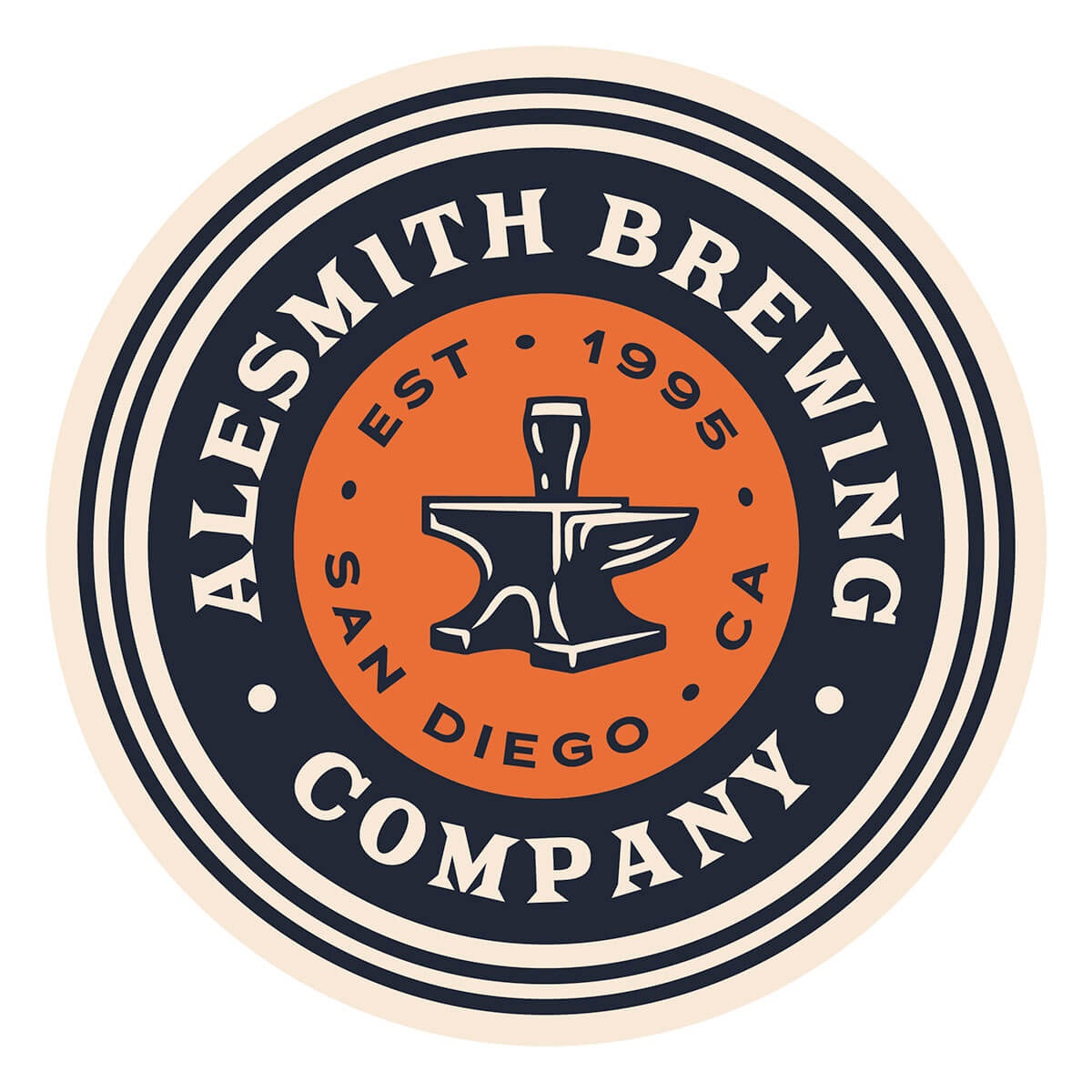One of the new logos for AleSmith Brewing Company