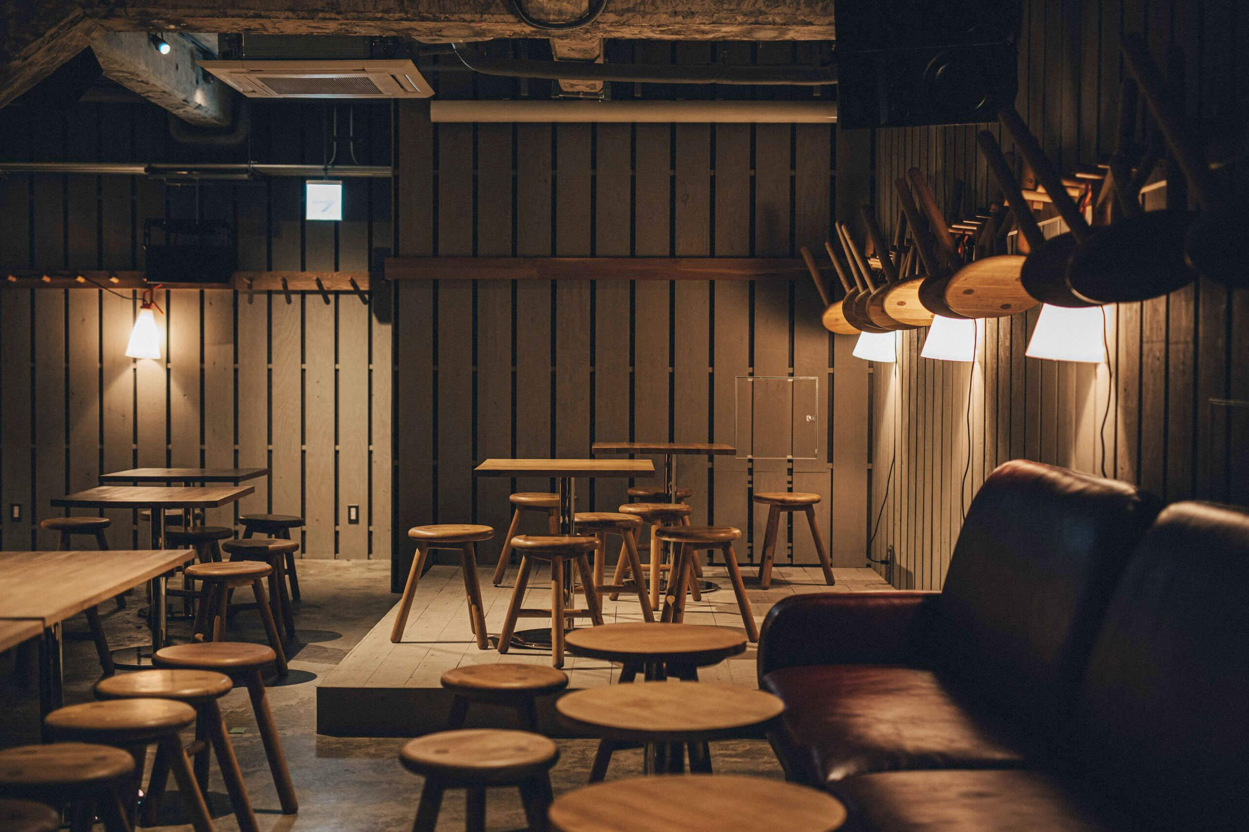 Inside B at K5, the new Brooklyn Brewery taproom in Tokyo, Japan