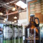 Thumbnail of http://A%20trio%20of%20crowlers%20and%20a%20growler%20inside%20the%20taproom%20at%20Fieldwork%20Brewing%20Company%20in%20Corte%20Madera,%20California