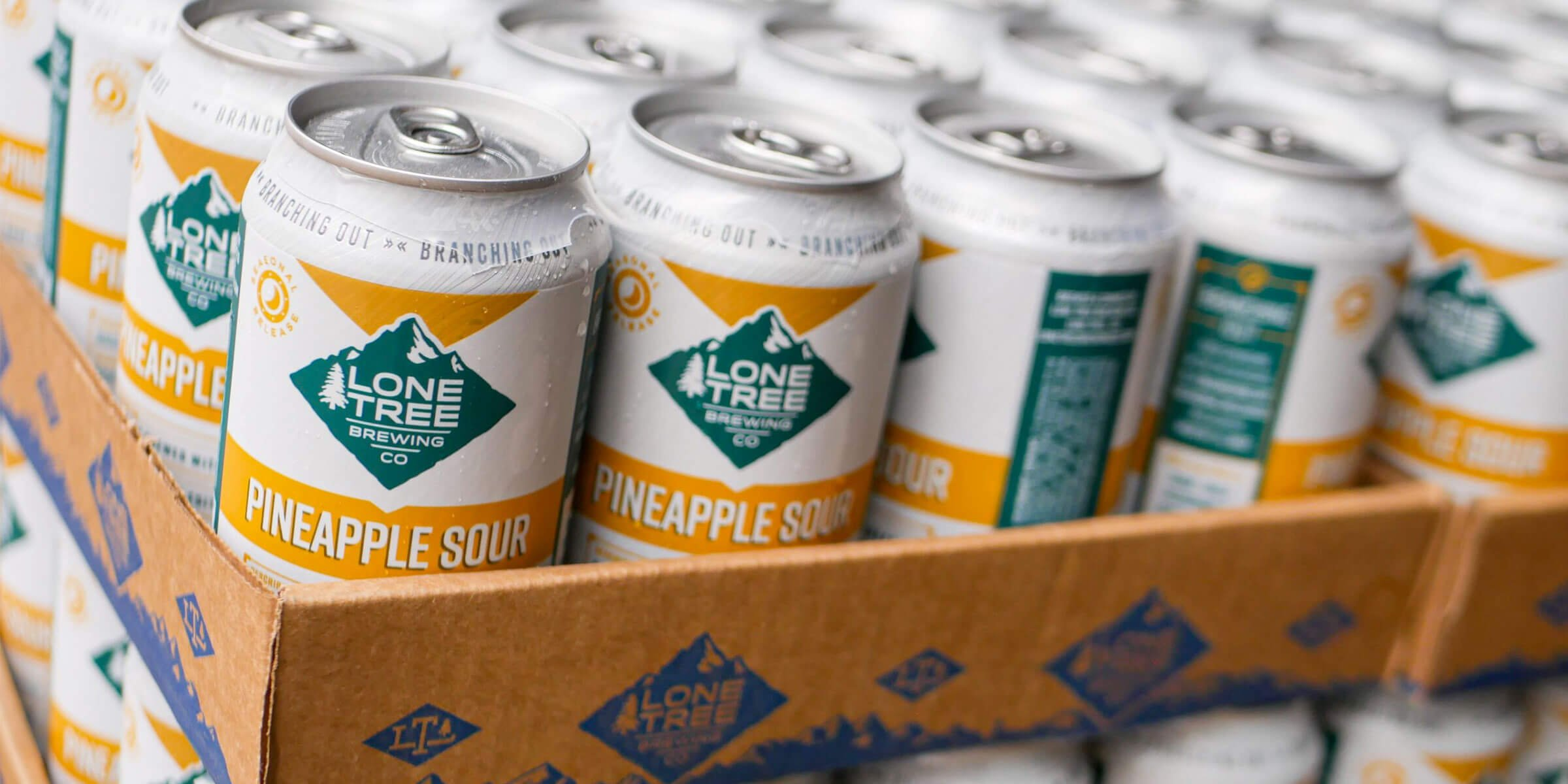The Pineapple Sour is one of seven new beers and five familiar favorites being released in 2020 by Lone Tree Brewing Co