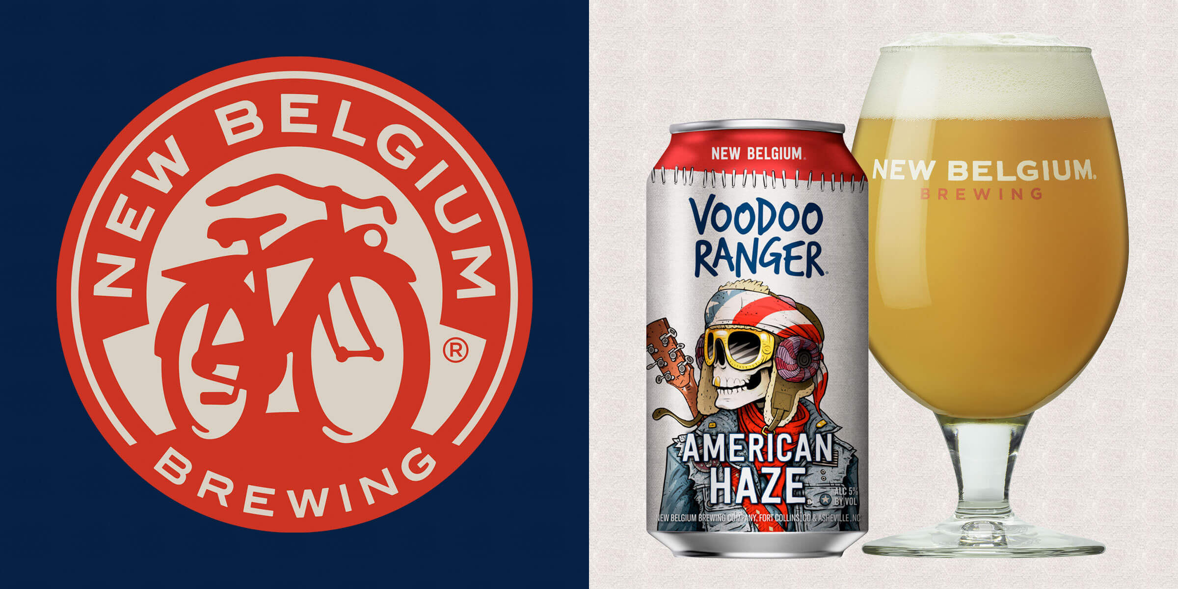 New Belgium Brewing Company announced its newest launch of the Voodoo Ranger brand series, American Haze, a 5% ABV IPA built to enjoy anytime and anywhere.