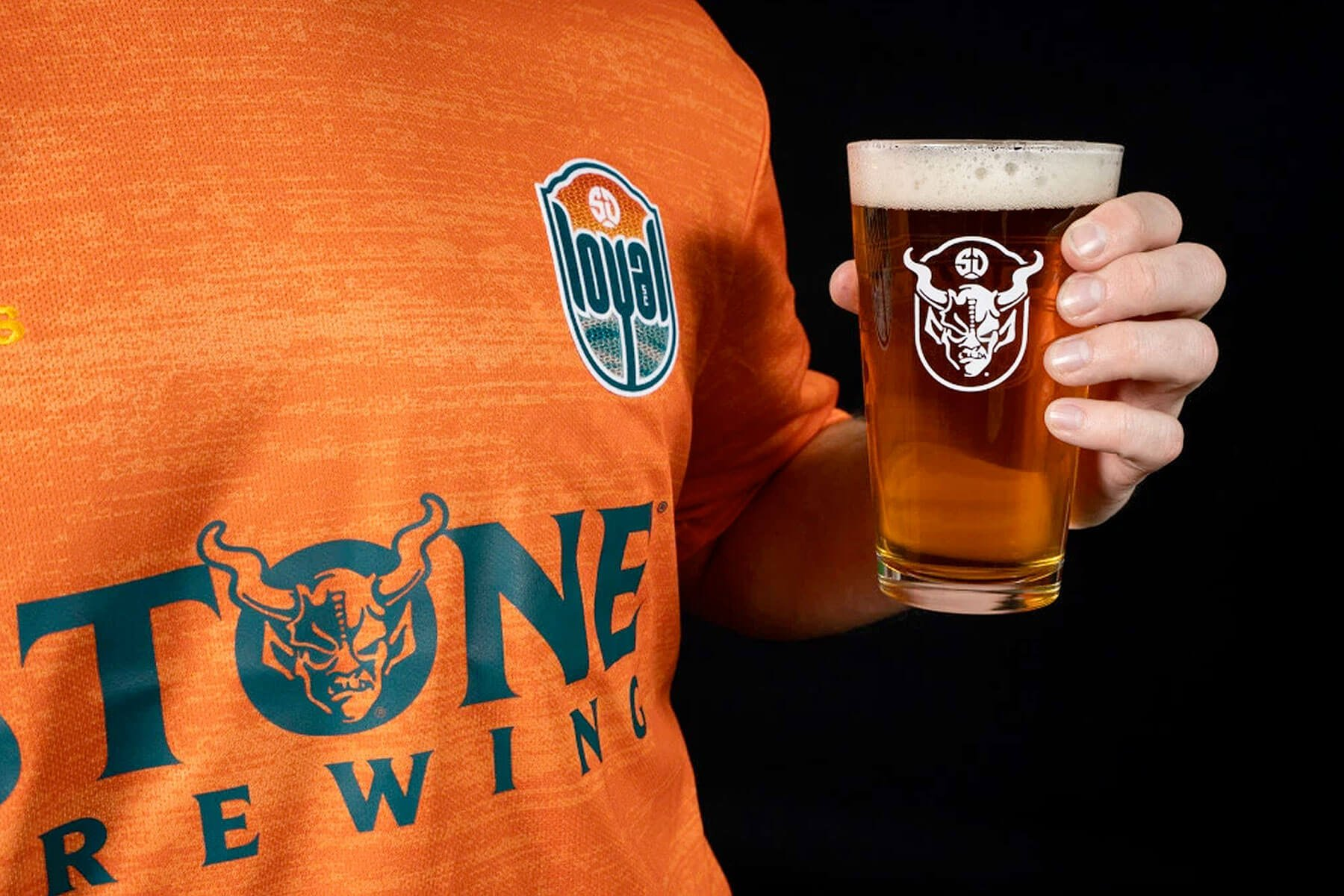 San Diego Loyal Soccer Club unveiled the club's uniform kits featuring the logo of Southern California's largest independent craft brewery, Stone Brewing.