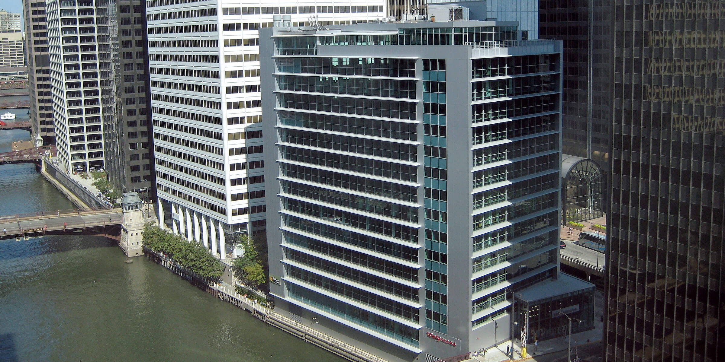 The corporate headquarters for Molson Coors Beverage Company in Chicago, Illinois