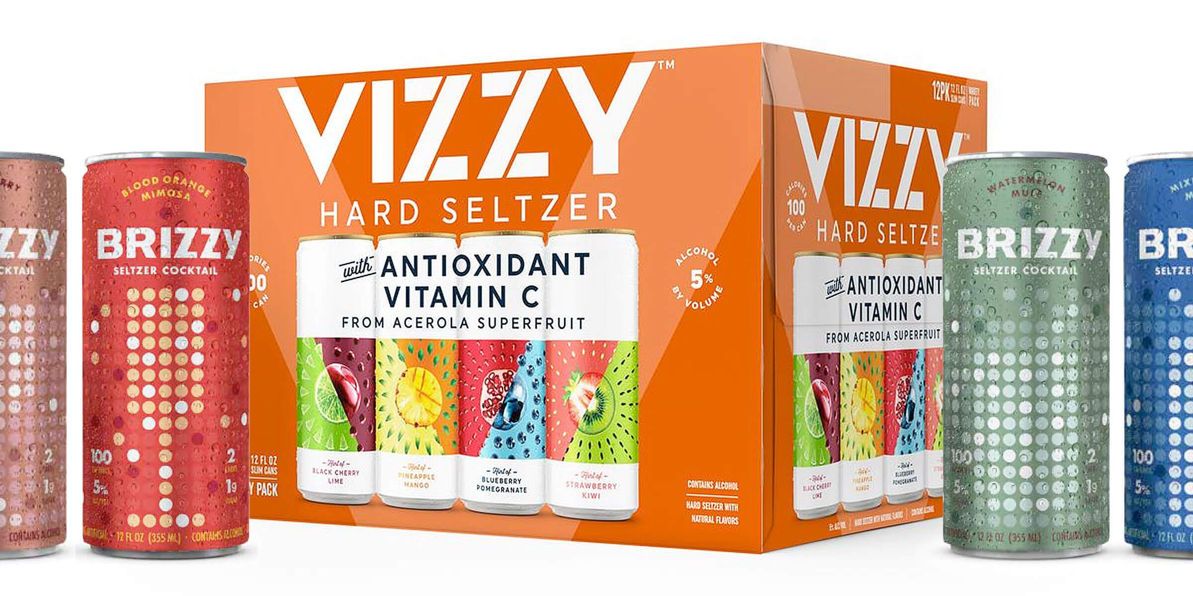 The parent company of Brizzy Seltzer Cocktails is suing Molson Coors Beverage Company, alleging they're infringing upon their brand with Vizzy Hard Seltzer.