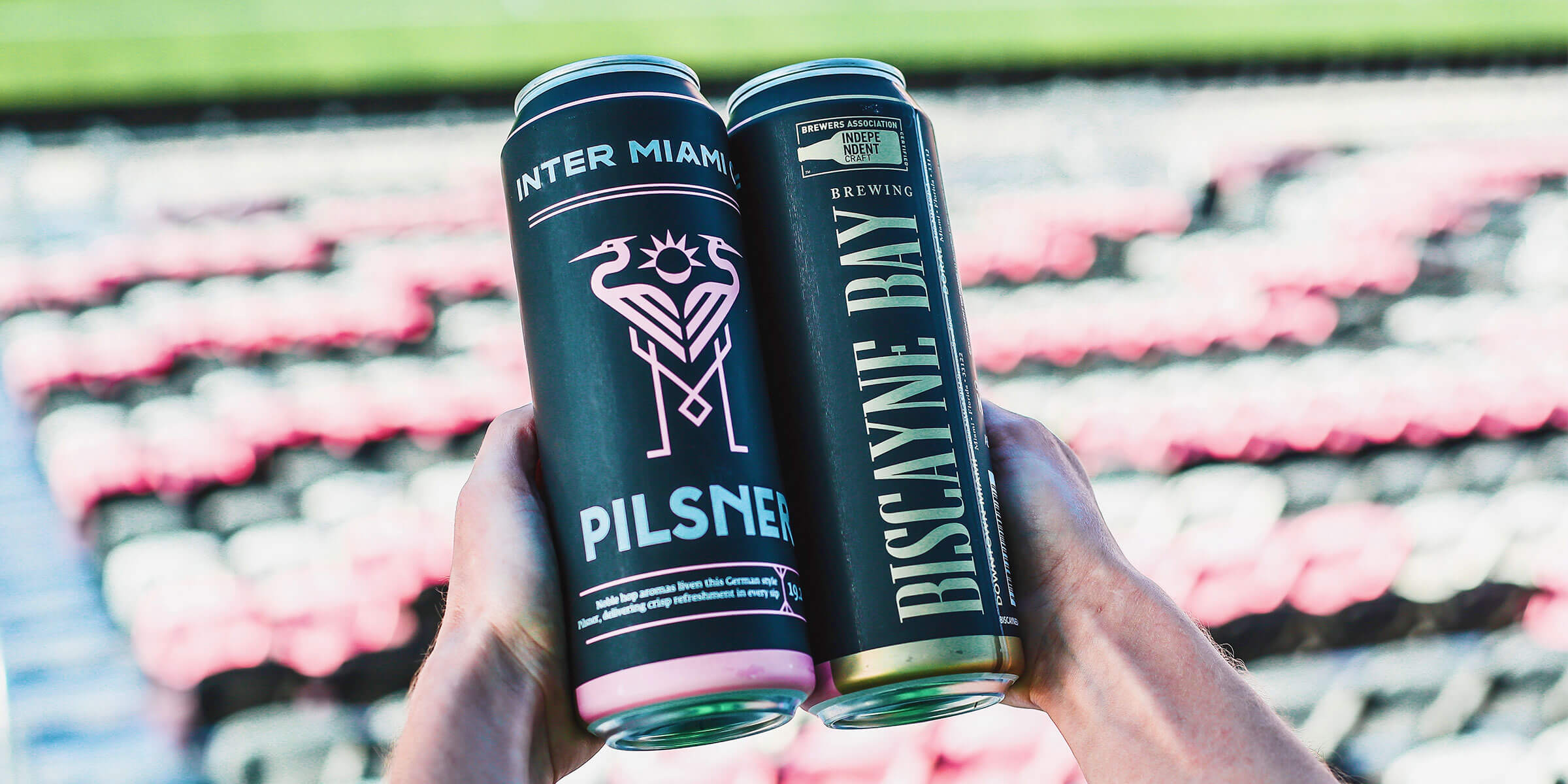Inter Miami CF has partnered with Biscayne Bay Brewing Company as the Official Craft Beer and to create a specialty pilsner for the Club's inaugural season.