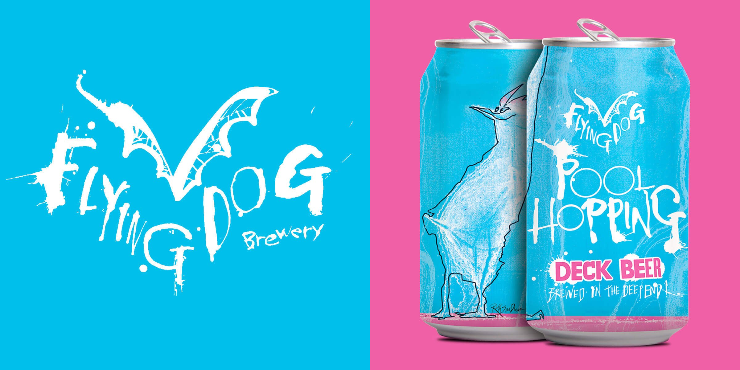 Flying Dog Brewery announced they're pioneering a new take on summer beers with the release of Pool Hopping, their first ever newly designated deck beer.