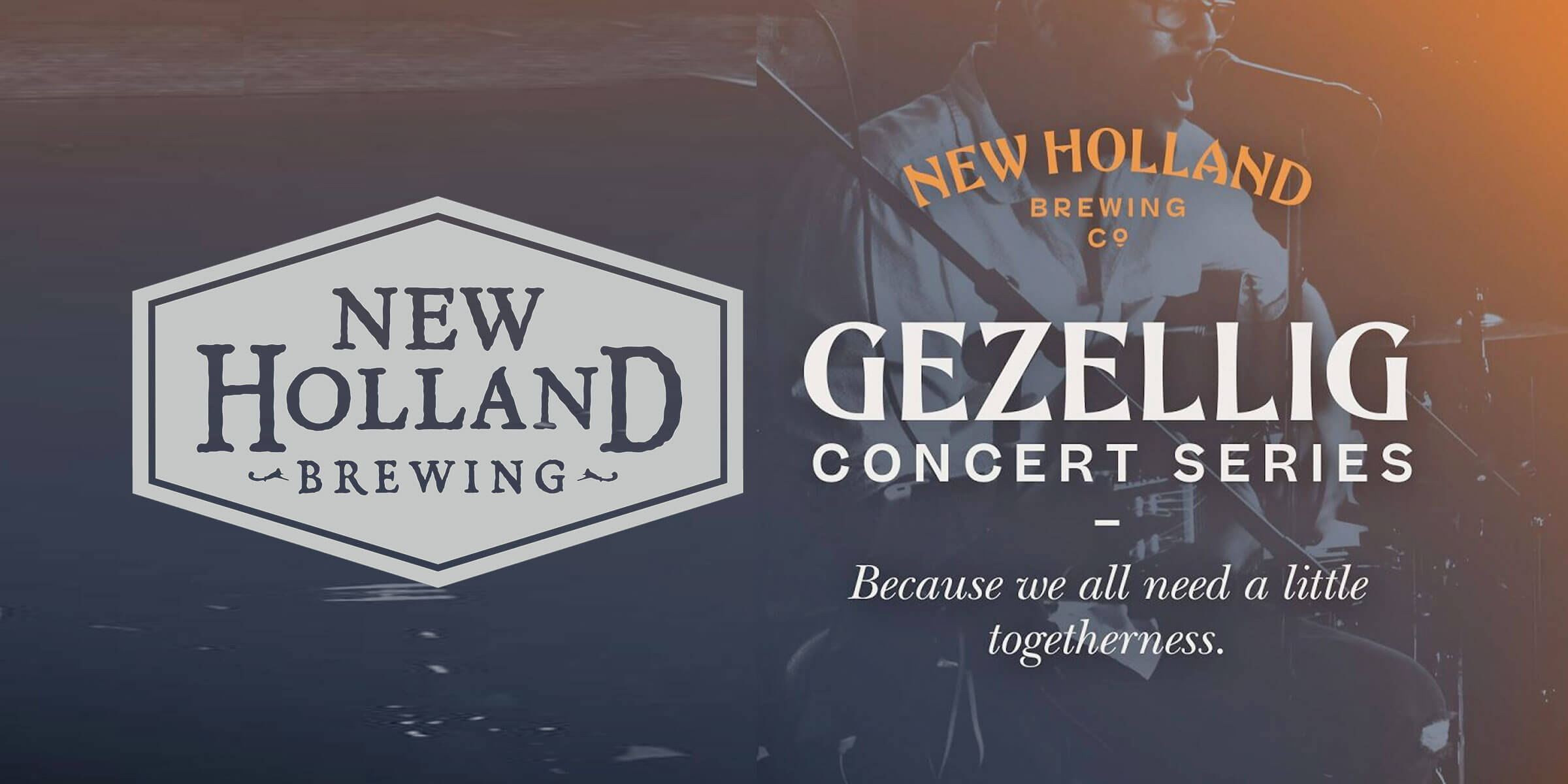 New Holland Brewing announced the Gezellig Virtual Concert Series, an opportunity for musicians and artists to perform from the safety of their own homes.