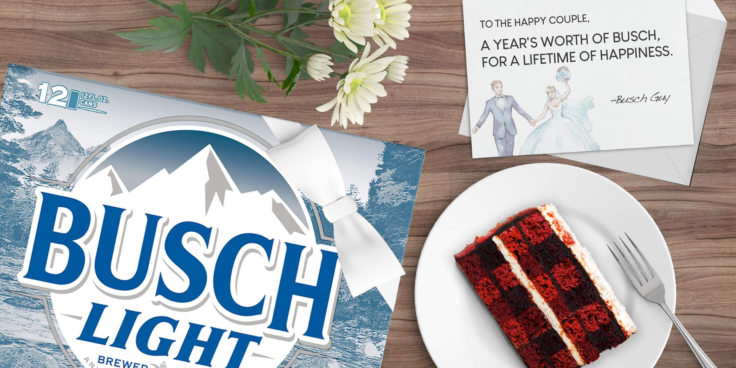 Busch Beer is running a social media contest for couples whose 2020 wedding plans are impacted by coronavirus-related shutdowns.