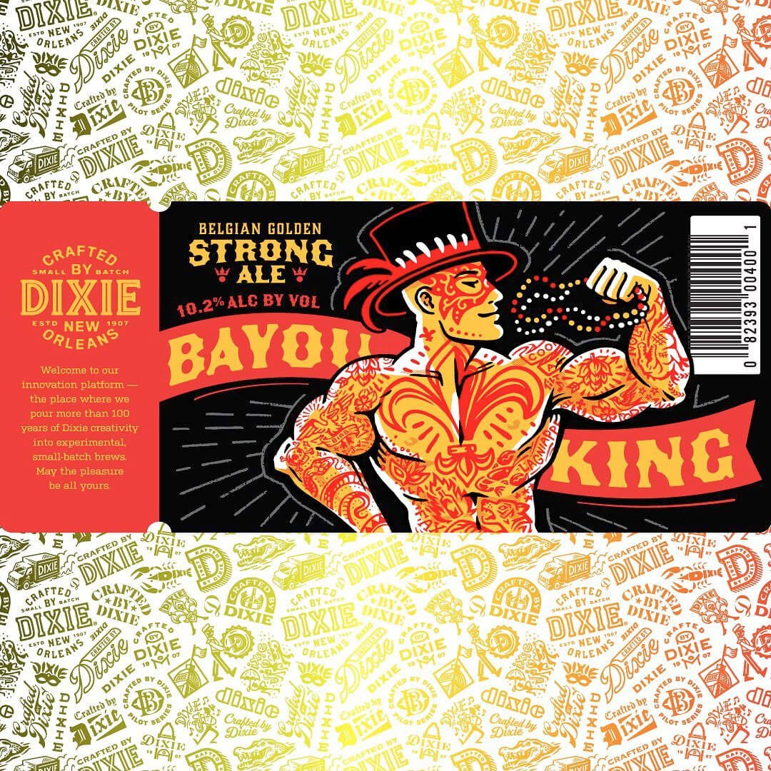 Bayou King Golden Strong Ale by Dixie Brewing Company