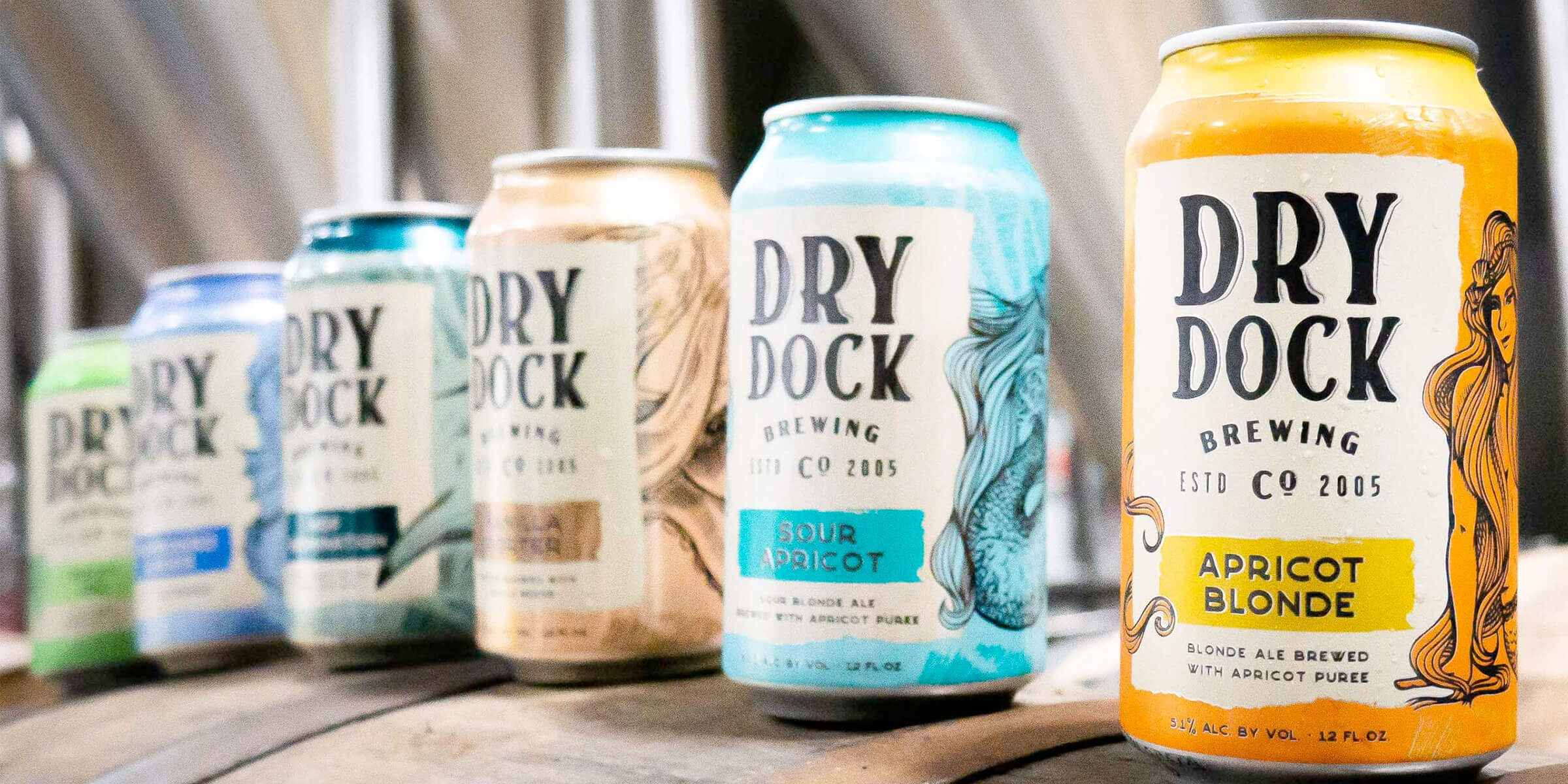 Dry Dock Brewing Company, the first craft brewery in Aurora, Colorado, is releasing a refresh of its company logo and packaging.
