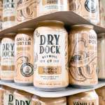 Thumbnail of http://Redesigned%20cans%20of%20the%20Vanilla%20Porter%20by%20Dry%20Dock%20Brewing%20Company
