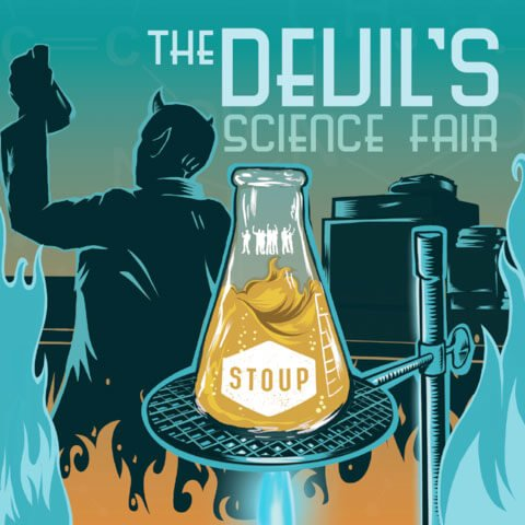 Art for The Devil's Science Fair by Everybody's Brewing and Stoup Brewing