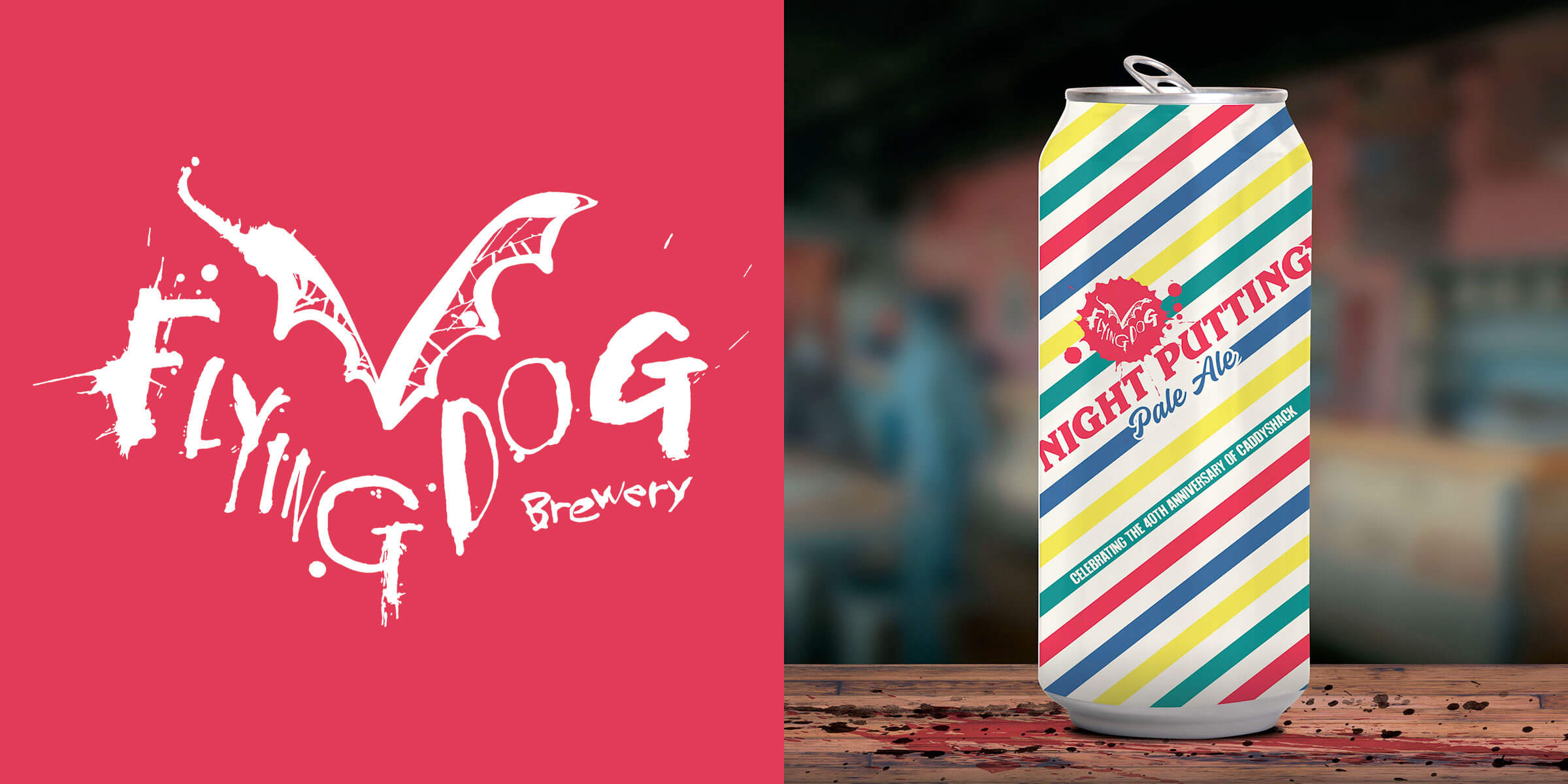 For the 40th anniversary of Caddyshack, the greatest golf movie ever, Flying Dog Brewery has created the best beer to accompany the game, Night Putting.