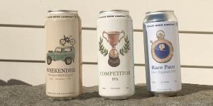 Lineup of canned beers offered by ZēLUS Beer Company