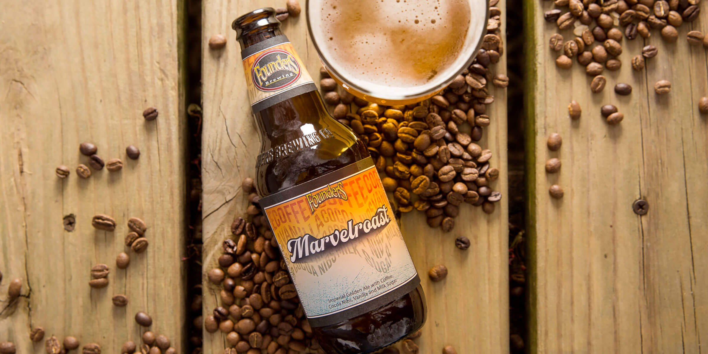 Founders Brewing Co. announced the Marvelroast Imperial Golden Ale as the latest addition to the Limited Series lineup, available nationwide this July.