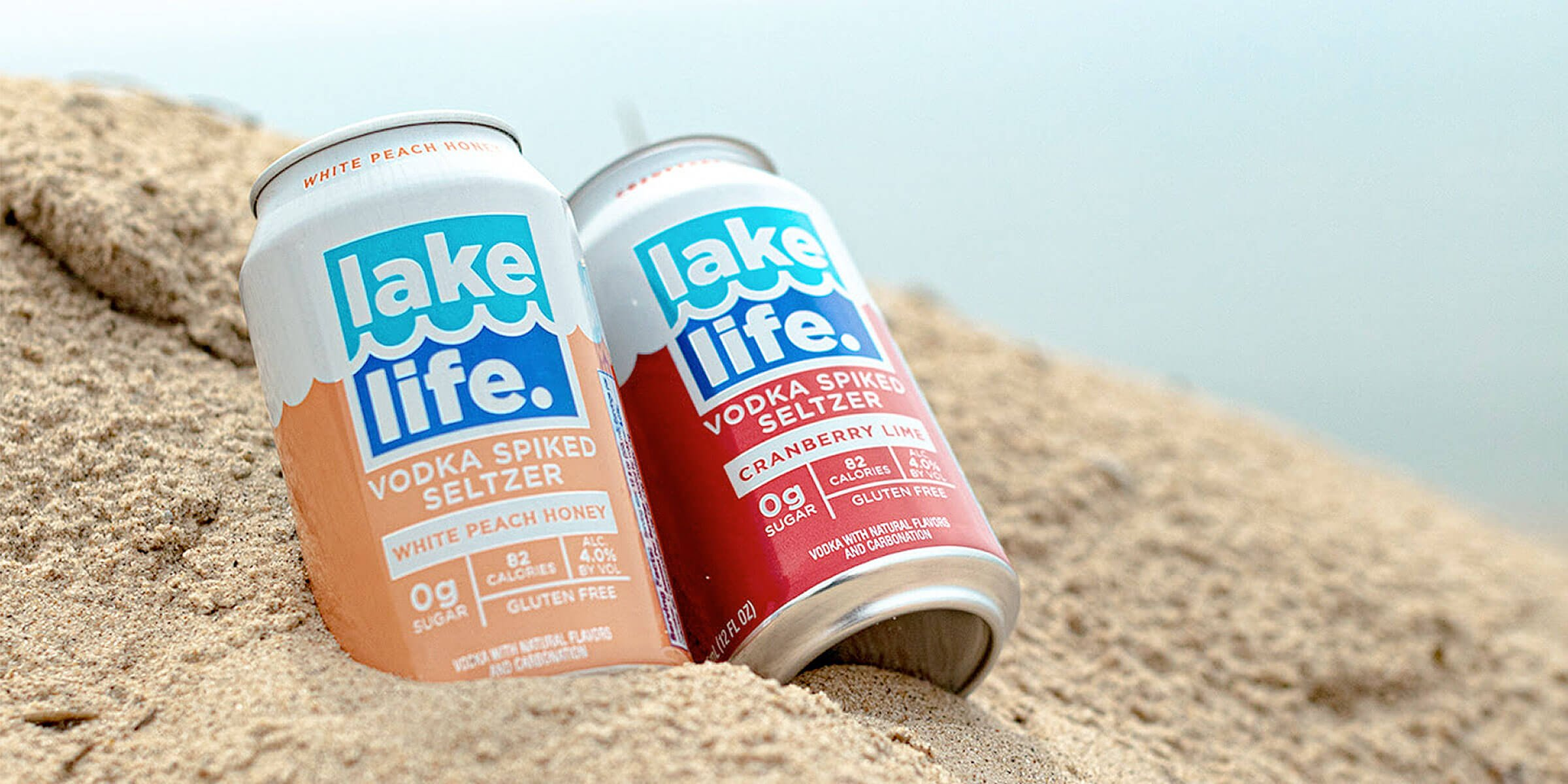 Michigan-based New Holland Brewing's sister distillery New Holland Spirits is launching a pair of Lake Life vodka-spiked hard seltzers statewide.