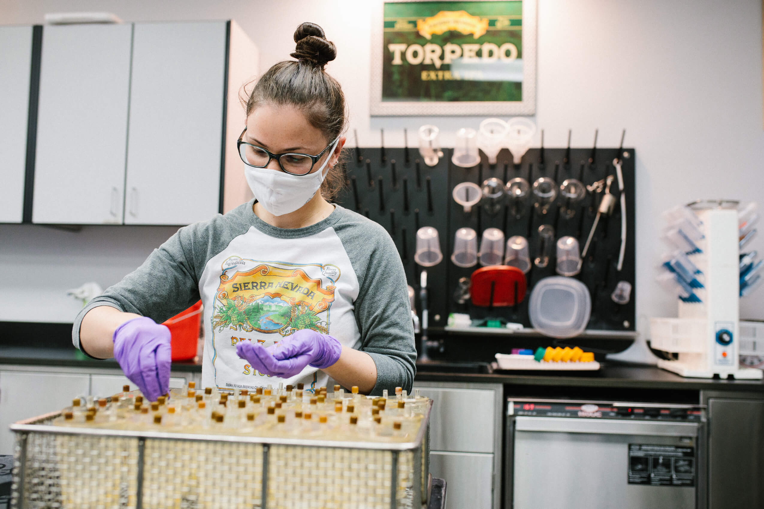 Sierra Nevada Brewing Co. announced they will help Enloe Medical Center perform COVID-19 testing by producing viral transport medium in its brewery lab.