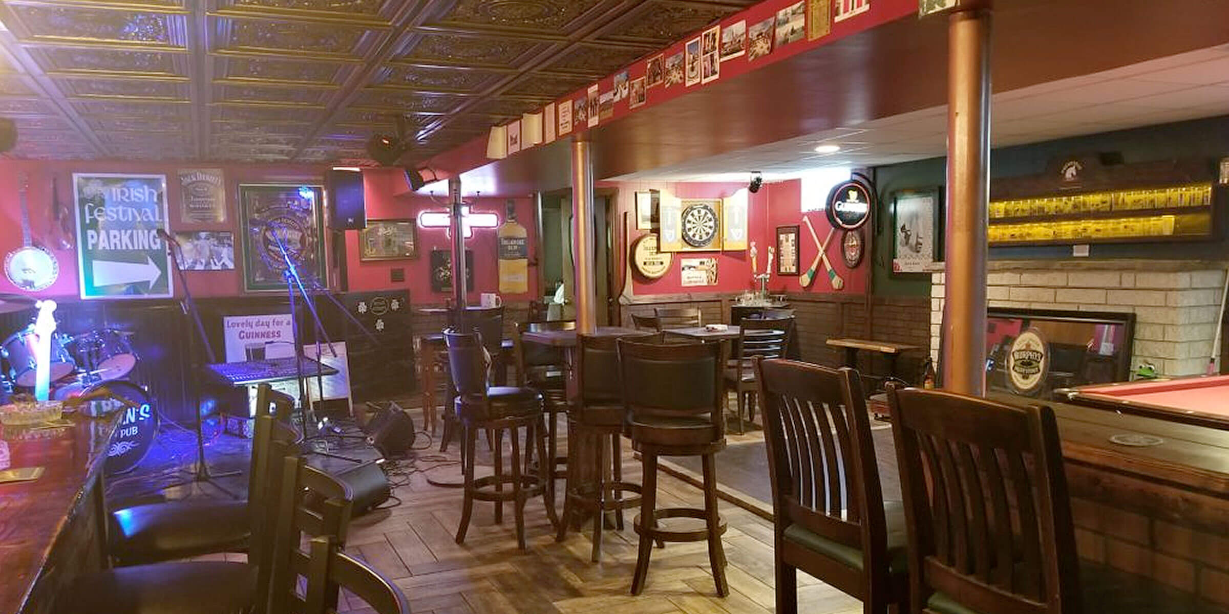 An Irishman living in the U.S. came up with a perfect way to combat being homesick: build an Irish pub in his basement with pints of Guinness on tap.