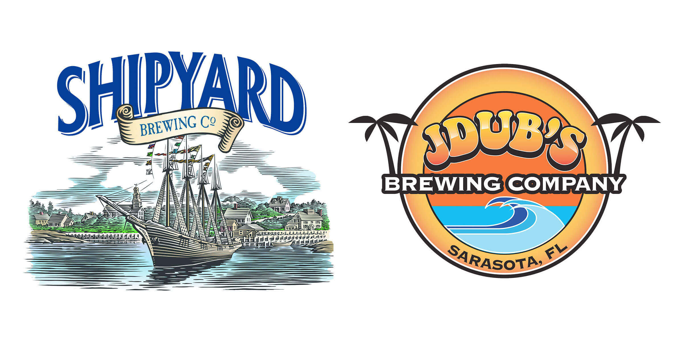 Orlando-based Brew Theory is excited to announce two major new production partners: Shipyard Brewing Co. and JDub's Brewing Company.