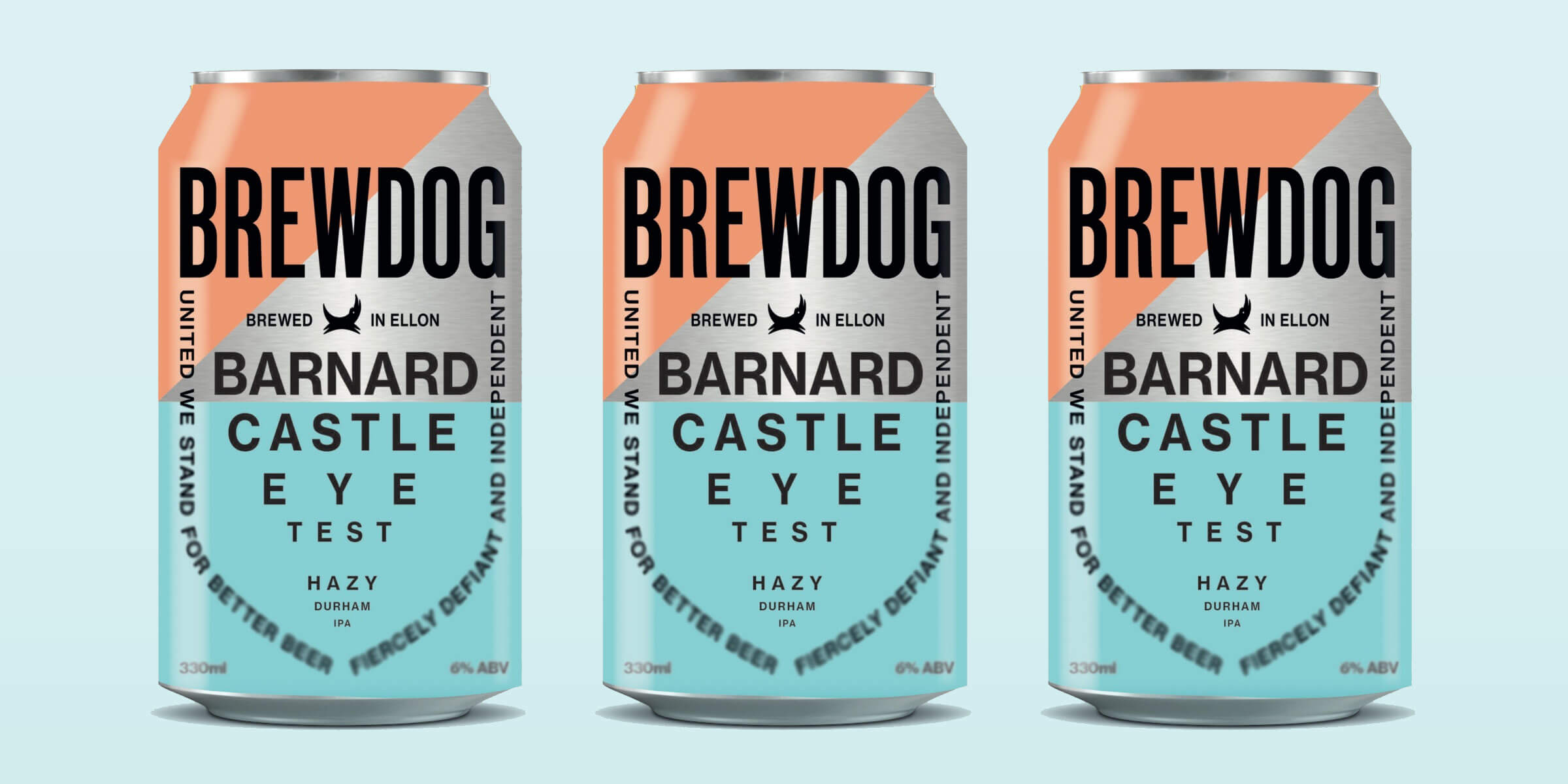 BrewDog launched Barnard Castle Eye Test IPA, mocking Boris Johnson's lockdown-defying, intrepid-adventurer Dominic Cummings, and with profits going to charity.