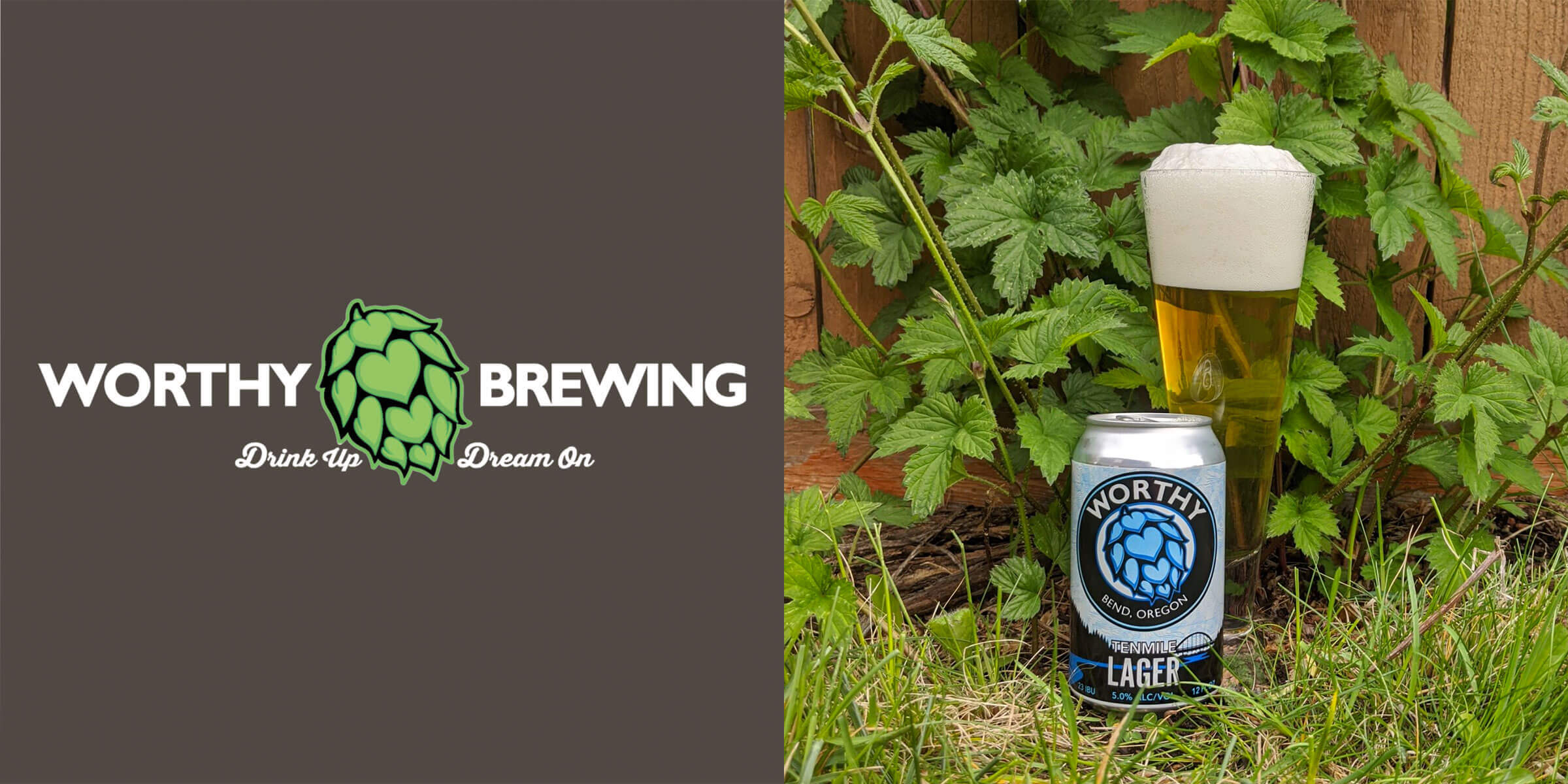 Worthy Brewing Company released Tenmile, a crisp dry-hopped lager that has an environmental focus with recyclable packaging and proceeds benefiting forests.