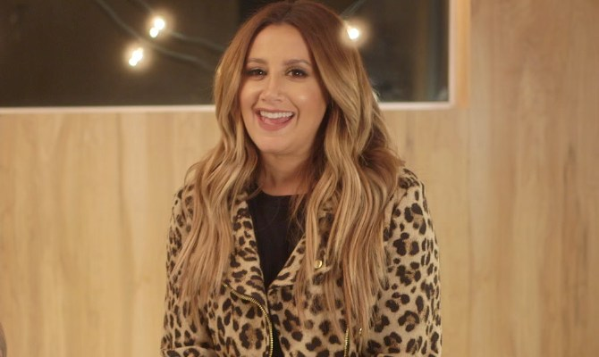 Watch Ashley Tisdale nails 'Toxic' acoustic cover