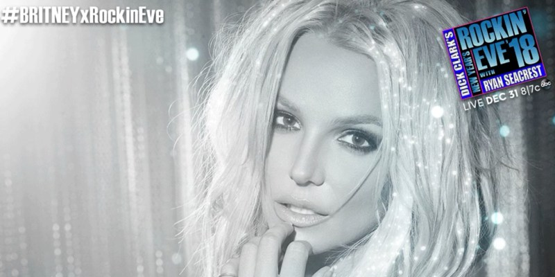 Britney will perform at New Year's Rockin' Eve #BRITNEYxRockinEve