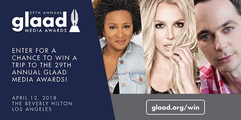 Win a Trip to See Britney Spears at this years GLAAD Awards! @britneyspears @glaad
