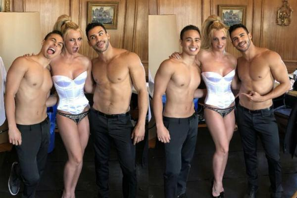Britney Spears, Lake Smits, Willie Gomez