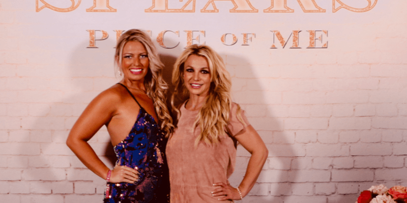 Britney Cadott meet and greet story with Britney Spears! #PieceOfMe