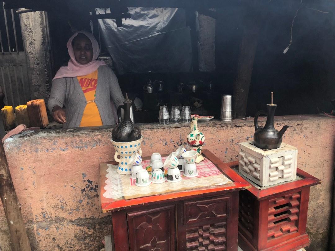 Ethiopian Cultural Food - Ethiopian Coffee Ceremony