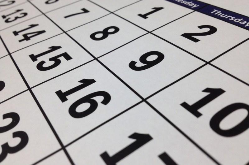 13 months calendar