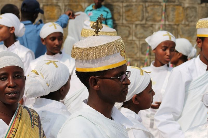 People Gathered Timket Festival. 8 Facts You Need To Know About Ethiopia's Timket Festival. Absolute Ethiopia